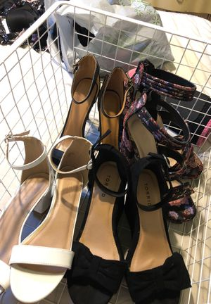 Four pair of heels for Sale in San Diego, CA