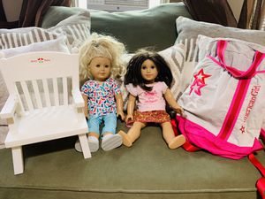 American Girl Lot!! Gorgeous Dolls! Great Deal!! for Sale in Everett, MA