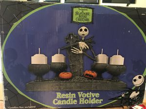 *Rare* The Nightmare before Christmas Resin Votive Candle Holder for Sale in Seattle, WA