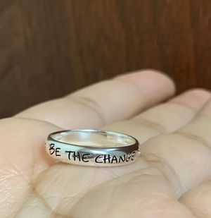 925 silver ring, size 8 for Sale in Whittier, CA