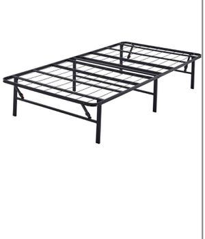 "Twin metal bed frame 14"" high for Sale in Taylor, MI"