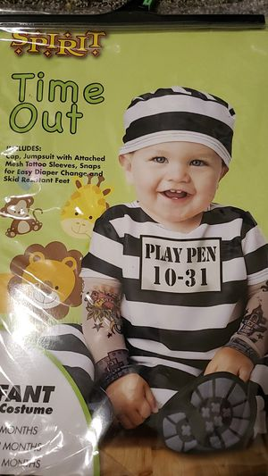 12 to 18 month time out costume for Sale in Phoenix, AZ