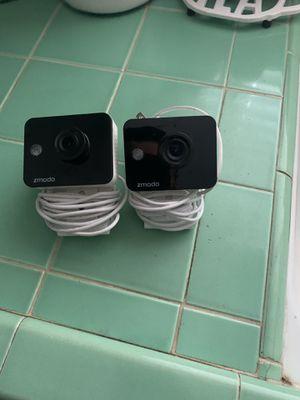 2 Zmodo 720P HD Wi-Fi security cameras for Sale in Stockton, CA