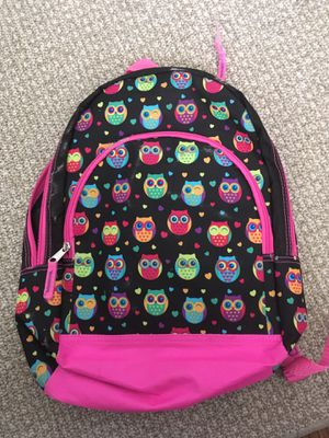 Girls Owl Backpack for Sale in Winfield, WV