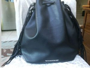 Victoria secret backpack bag with tags on it. Also has black fringe on sides for Sale in Newburgh, IN