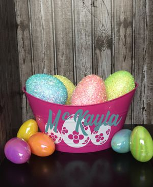 Easter basket buckets for Sale in Pillager, MN