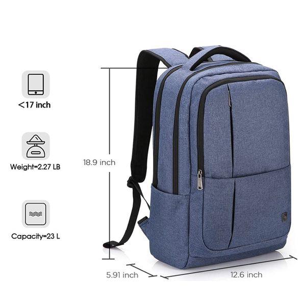 Laptop Backpack 17 Inch Business 17.3 Inch Bagpack Travel Large School Bookbag