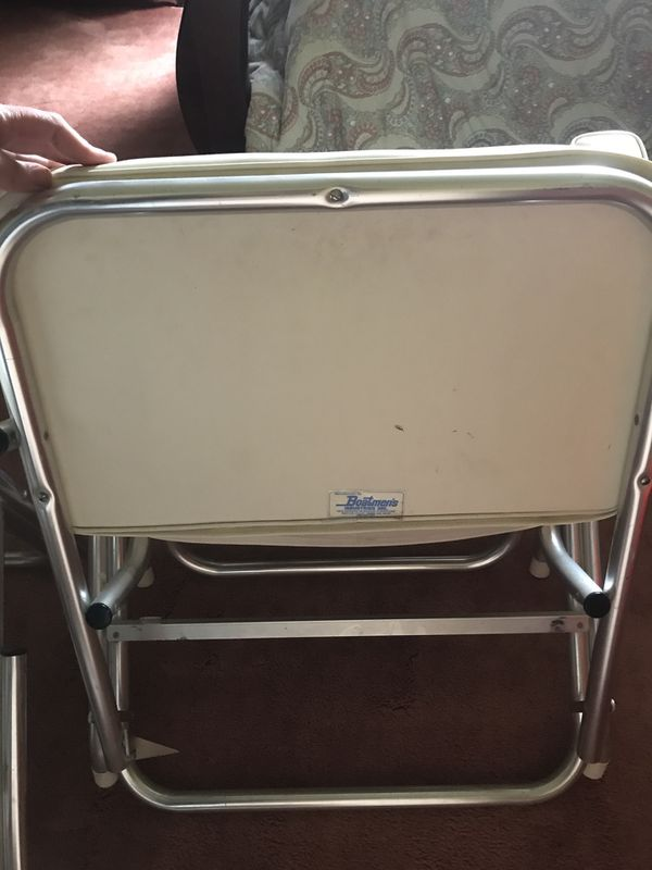 Vintage Boatmen's Industry Inc. Boating Chairs