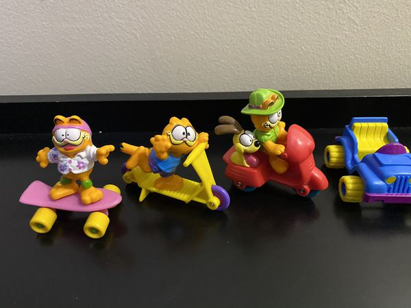 Garfield and Friends Vintage 1988 McDonalds Happy Meal Toys