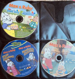 6 KIDS DVD MOVIES! 3 MAX AND RUBY; 3 DORA DVDS! Prefer to sell as group~ READ BELOW FOR SAVINGS!! for Sale in Virginia Beach, VA