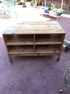 Wooden storage shelve for Sale in Fresno, CA