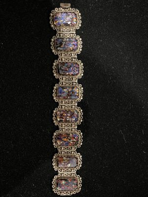 925 Sterling Silver bracelet Very Nice 50.2g bring $65 take it for Sale in Carson, CA