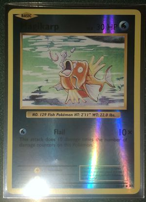 Shadowless Magikarp Pokemon Card for Sale in Taylors, SC