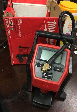 Milwaukee compact inflator for Sale in Bakersfield, CA