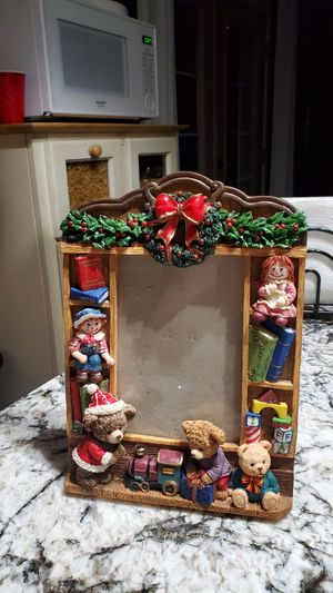 Raggedy Ann and Andy Christmas Picture Frame for Sale in Glendale, AZ