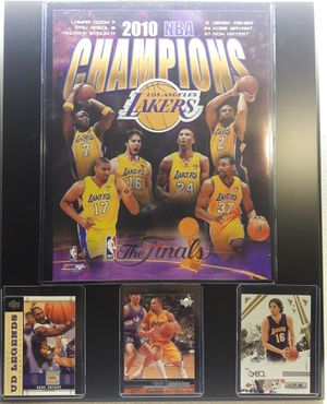 Lakers 2010 championship plaque for Sale in Commerce, CA