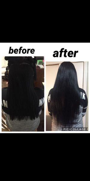 Extensiones de cabello100% pelo natural especial del mes for Sale in Mesquite, TX