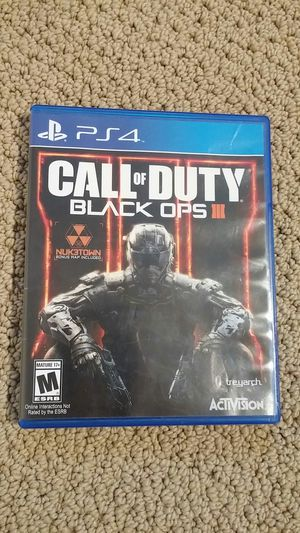 Call of duty black ops 3 for Sale in Kent, WA