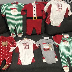Baby Holiday pjs... 3 And 0-3mnths for Sale in Los Angeles, CA