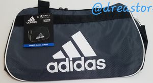 Adidas Small Diablo Duffle Bag Black Adjustable Shoulder Strap Grey White New for Sale in Los Angeles, CA