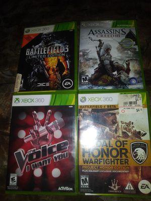 Xbox 360 games for Sale in Rialto, CA