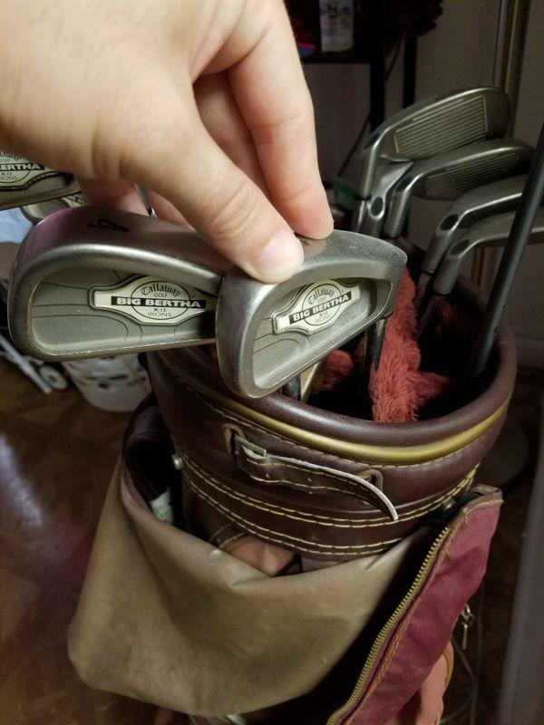 Golf clubs big bertha callaway