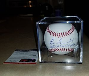 🔥 Luis Gonzalez autographed baseball PSA/DNA COA 🔥 for Sale in El Mirage, AZ