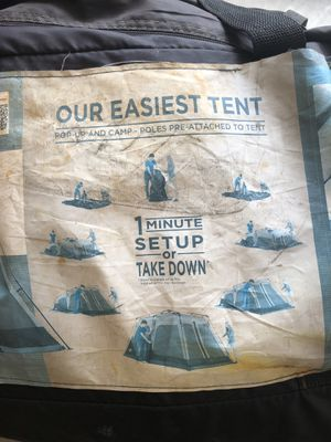 8-person Coleman Instant Tent for Sale in Gresham, OR