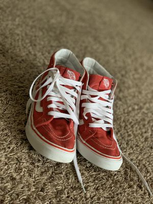 Red Hightop Vans Size 5 for Sale in SeaTac, WA