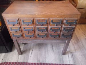 Index / Card Catalog Table for Sale in Des Moines, IA