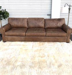 Restoration Hardware Lancaster Sofa 7' Camel for Sale in San Diego,  CA