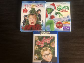 Christmas BluRay Bundle (4 Film Set) for Sale in The Bronx,  NY
