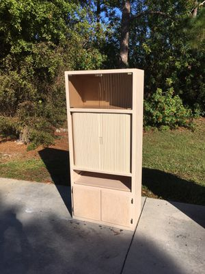 Wooden Lighted Cabinet for Sale in Bonita Springs, FL