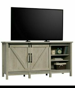 """New 💎💎 Better Homes & Gardens Modern Farmhouse TV Stand for TVs up to 70"""", Rustic White Finish for Sale in Houston,  TX"""