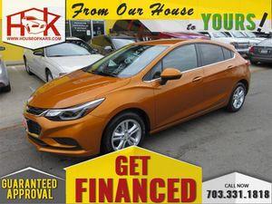 2017 Chevrolet Cruze for Sale in Manassas, VA