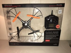 Cloud Rider 2.4 GHz Quadrocopter w/Camera Drone by Propel for Sale in Madison Heights, MI