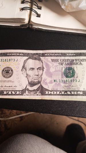 Cool Number $5 Bill for Sale in Ringgold, GA