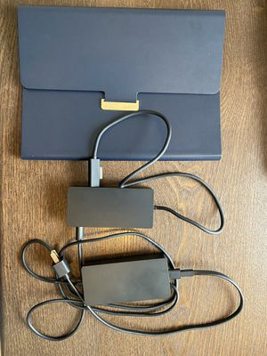 Microsoft surface dock and Surface case for Sale in Lakeland, FL