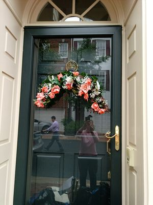 Beautiful flower wreath for your door for Sale in Alexandria, VA