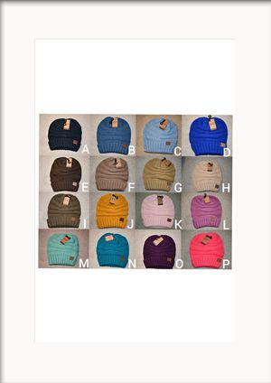 Beanies, C.C Beanies Adult Size for Sale in Watsonville, CA