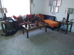 Orange & Brown Sectional for Sale in Macon, GA