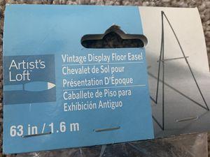 Vintage display Floor easel for Sale in Austin, TX