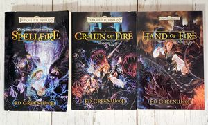 Forgotten Realms Shandrils Saga Book 1, 2, 3 Trilogy by Ed Greenwood for Sale in Harrisonburg, VA