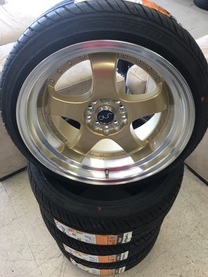 """17"""" jnc017 wheels and tires for Sale in Pasadena, TX"""