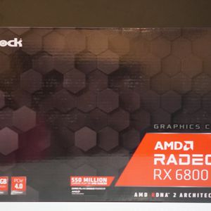 ASRock Radeon RX 6800 Gaming Graphics Card with 16GB GDDR6 AMD RDNA 2 for Sale in Signal Hill, CA