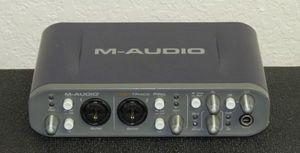 "M-AUDIO ""FastTrack Pro"" USB Digital Audio Interface for Sale in San Antonio, TX"