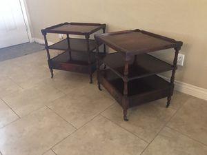 Set of Antique Mahogany Tables for Sale in Surprise, AZ