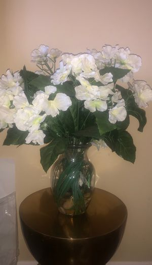 Artificial Flowers with Vase for Sale in San Diego, CA