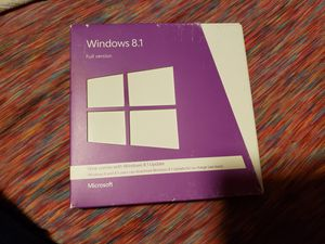 Windows 8.1 disks and key for Sale in Everett, WA