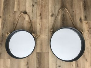 Wall Mirrors / Nautical Style / $40 for Sale in Los Angeles, CA